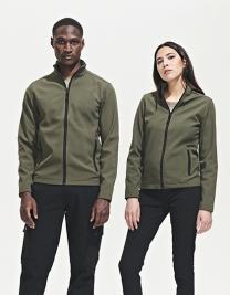 Womens Softshell Zip Jacket Race